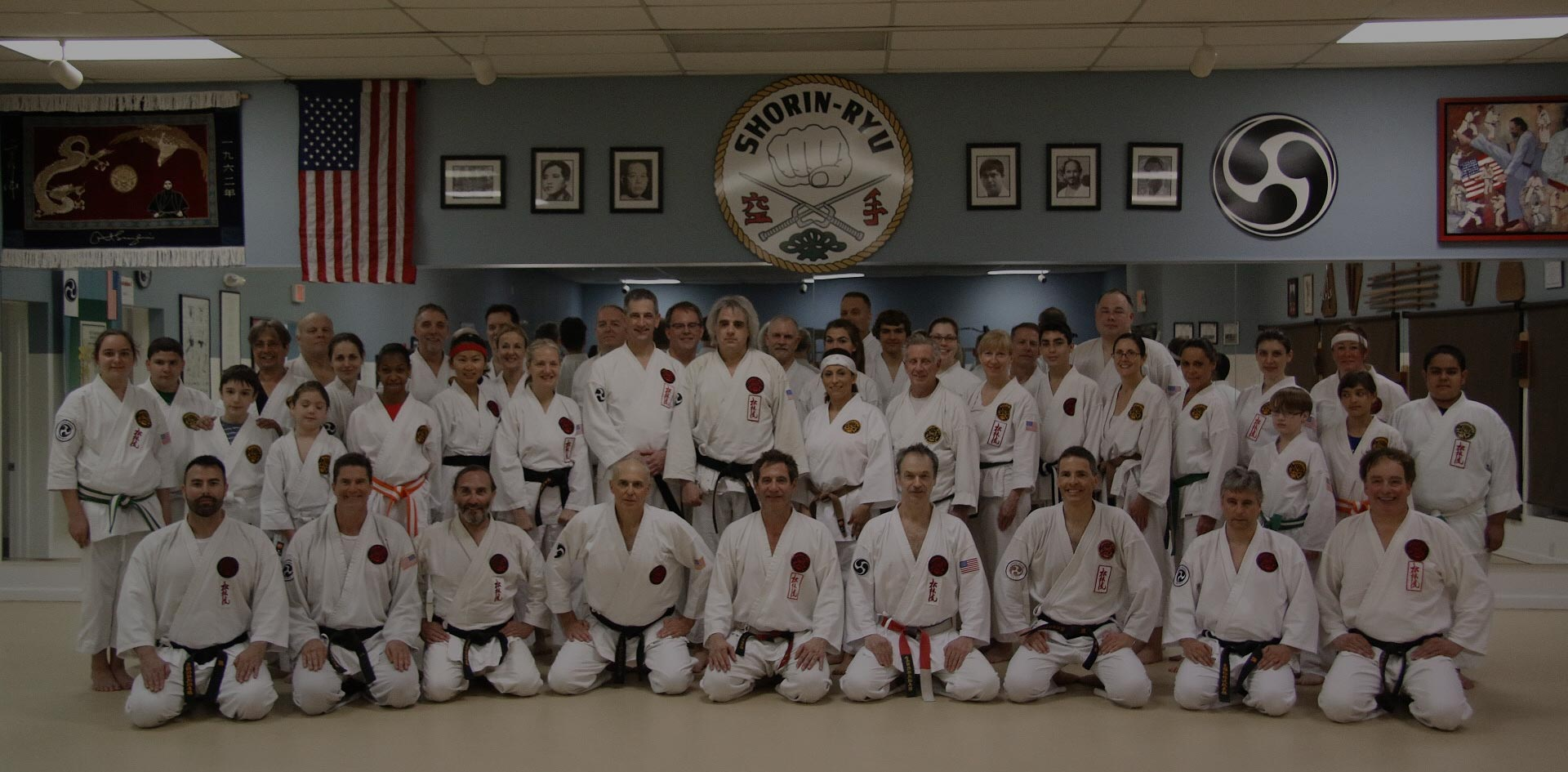 Merritt Island Karate Dojo members group photo